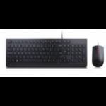 Lenovo 4X30L79891 keyboard USB QWERTZ Czech Black