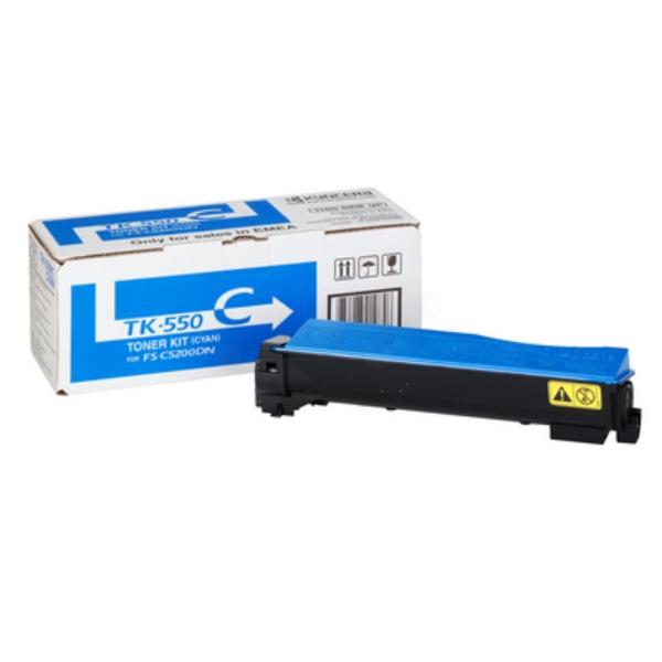 Kyocera 1T02HMCEU0 (TK-550 C) Toner cyan, 6K pages @ 5% coverage