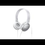 Panasonic RP-HF300ME-W Head-band Binaural Wired Grey,White mobile headset
