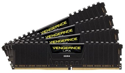 Corsair Vengeance LPX CMK64GX4M4C3000C15 64GB DDR4 3000MHz memory module