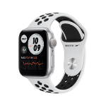 Apple Watch Series 6 Nike OLED 40 mm Plata GPS (satélite)
