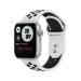 Apple Watch Series 6 Nike OLED 40 mm Plata GPS (satélite)