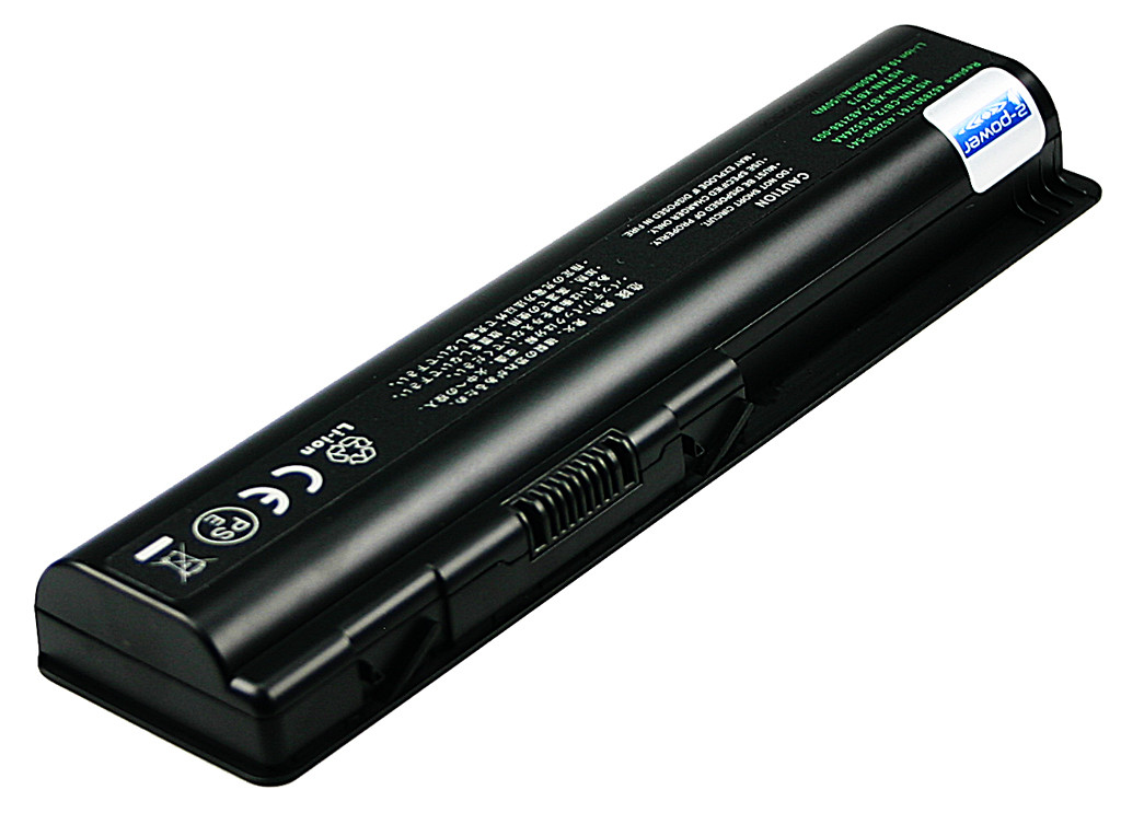 2-Power 10.8v, 6 cell, 47Wh Laptop Battery - replaces 497694-001