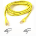 Belkin Cat. 6 UTP Patch Cable 8ft Yellow 2.4m Yellow networking cable