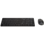Targus AKM15USZ RF Wireless + USB QWERTY English Black keyboard
