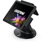 "CUSTOM 934MB010200L33 POS system 43.2 cm (17"") 1280 x 1024 pixels Touchscreen 2 GHz Black"