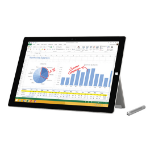 Microsoft Surface Pro 3 128GB Silver tablet