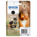 Epson Squirrel Singlepack Black 378XL Claria Photo HD Ink