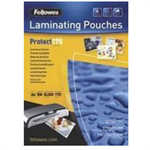 Fellowes A4 Glossy 175 Micron Laminating Pouch - 100 pack