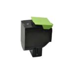 V7 Toner for selected Lexmark printers - Replacement for OEM cartridge part number 70C2HK0 V7-CS410K-HY-OV7