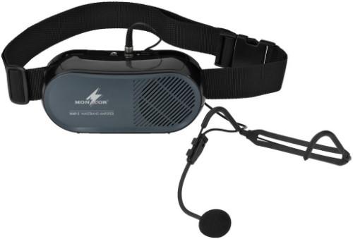 Monacor WAP-5 headphone amplifier 7 W Black