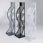Metroplan Wave Steel Grey filing cabinet