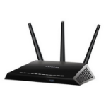 Netgear R7000 Dual-band (2.4 GHz / 5 GHz) Gigabit Ethernet Black wireless router