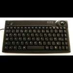 Sejin Mini Keyboard with integral trackball Black USB