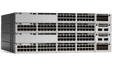 Cisco Catalyst C9300-24T-E network switch Managed L2/L3 Gigabit Ethernet (10/100/1000) Grey