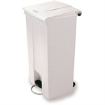 FSMISC 30.5L STEP-ON CONTAINER WHITE 324304300