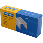 Rapesco S11880Z3 Staples pack 5000staples staples