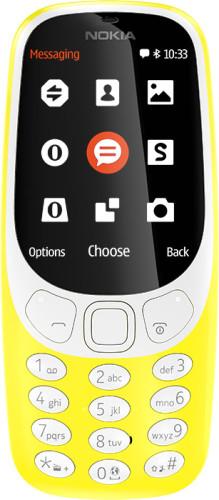 "Nokia 3310 6.1 cm (2.4"") Yellow Feature phone"