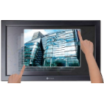 "AG Neovo TX-W42 42"" 1920 x 1080pixels Multi-user Black touch screen monitor"