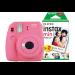 Fujifilm Instax Mini 9 Flamingo Pink Instant Camera inc 30 Shots