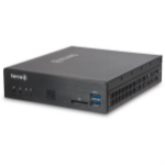 Wortmann AG TERRA PC-Nettop 3030 Fanless Intel® Celeron® J3355 4 GB DDR3-SDRAM 64 GB SSD Black Mini PC