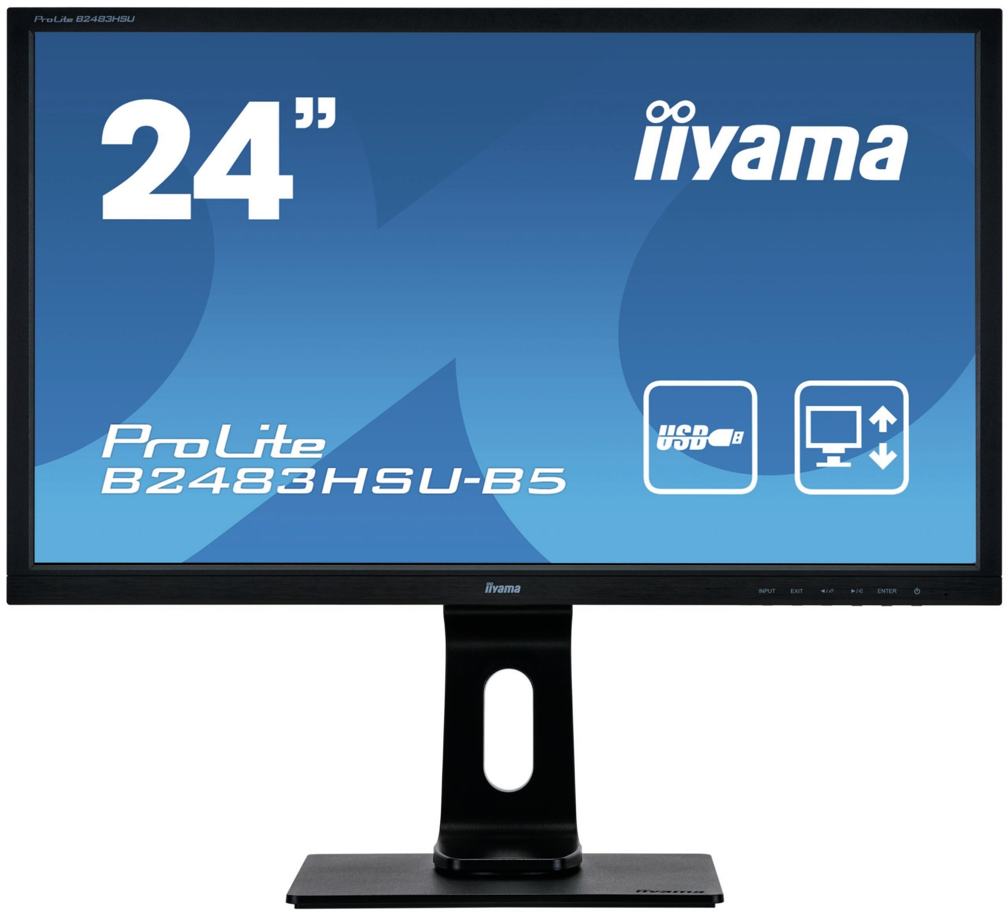 iiyama ProLite B2483HSU-B5 computer monitor 61 cm 24
