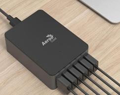 Aerocool ASA USB Charger 6 ports high speed USB charger