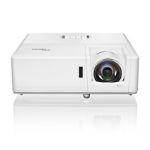 Optoma ZH406ST data projector Ceiling / Floor mounted projector 4200 ANSI lumens DLP 1080p (1920x1080) 3D White E1P1A3FWE1Z1