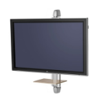 "SMS Smart Media Solutions X WH S1455 W/S 55"" Silver, White"