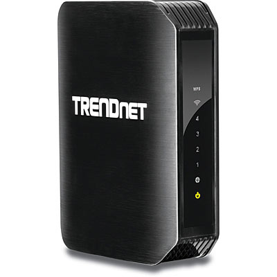 Trendnet TEW-751DR wireless router Dual-band (2.4 GHz / 5 GHz) Fast Ethernet Black