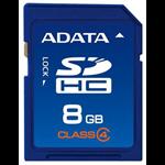 ADATA SDHC 8GB Class 4 8GB SDHC memory card