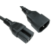 Cables Direct C14 - C15 1.8m power cable Black C14 coupler C15 coupler
