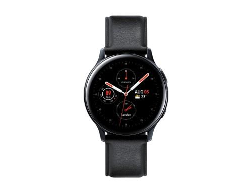 "Samsung Galaxy Watch Active 2 smartwatch Black SAMOLED 3.02 cm (1.19"") Cellular GPS (satellite)"