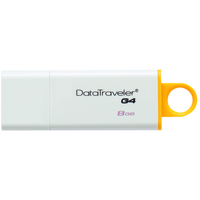 Kingston Technology DataTraveler G4 8GB 8GB USB 3.0 White,Yellow USB flash drive DTIG4/8GB