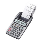 Casio HR-8TMPlus Pocket Printing calculator Grey