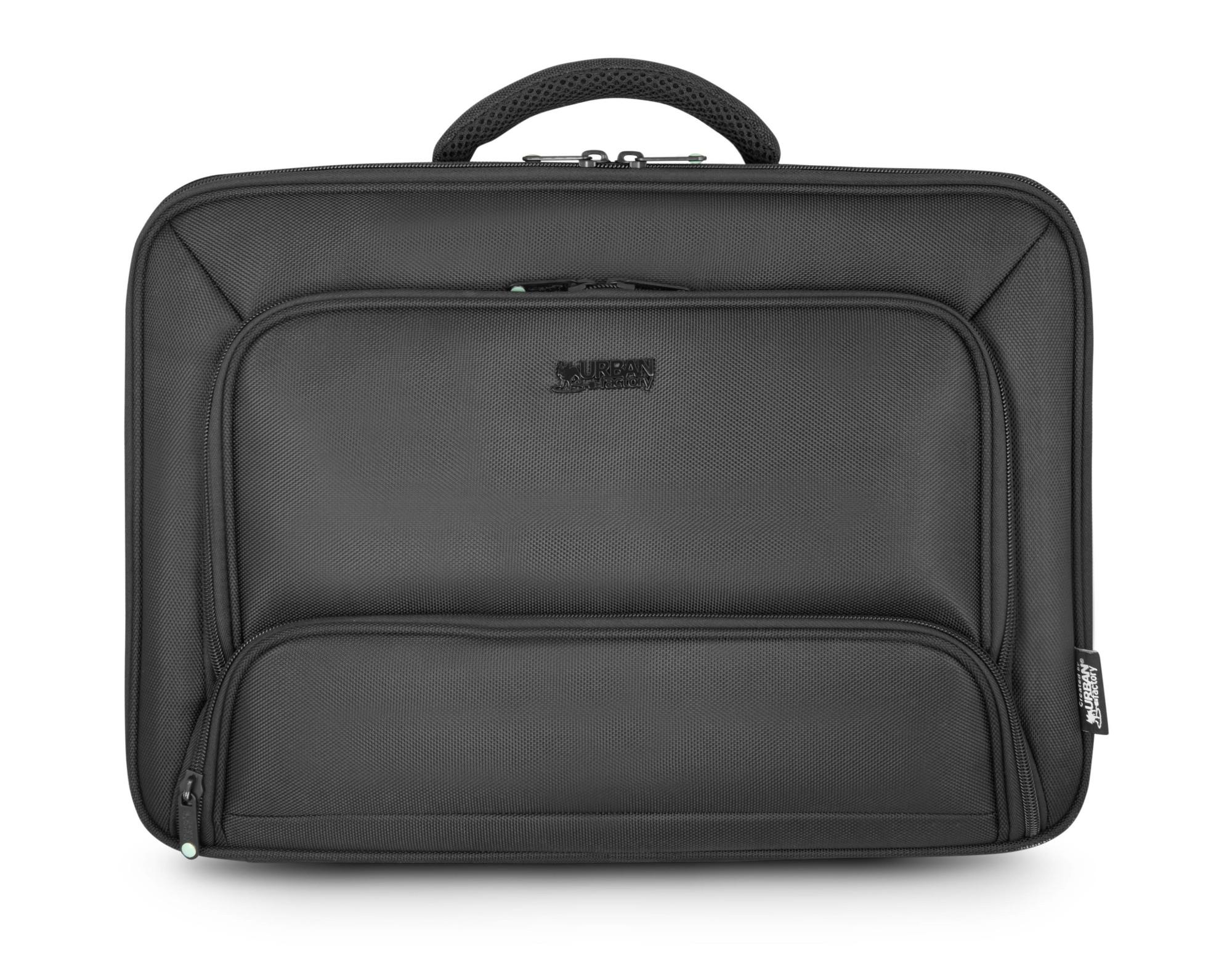 """Urban Factory Mixee maletines para portátil 39,6 cm (15.6"""") Maletín Negro"""