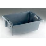 FSMISC STACK/NEST BOX 600X400X200MM GREYY