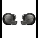 Jabra Evolve 65t Headset In-ear Black,Titanium