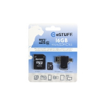 eSTUFF 16GB MicroSD memory card Class 10