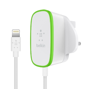 Belkin F8J204DR06-WHT mobile device charger Indoor Green,Yellow