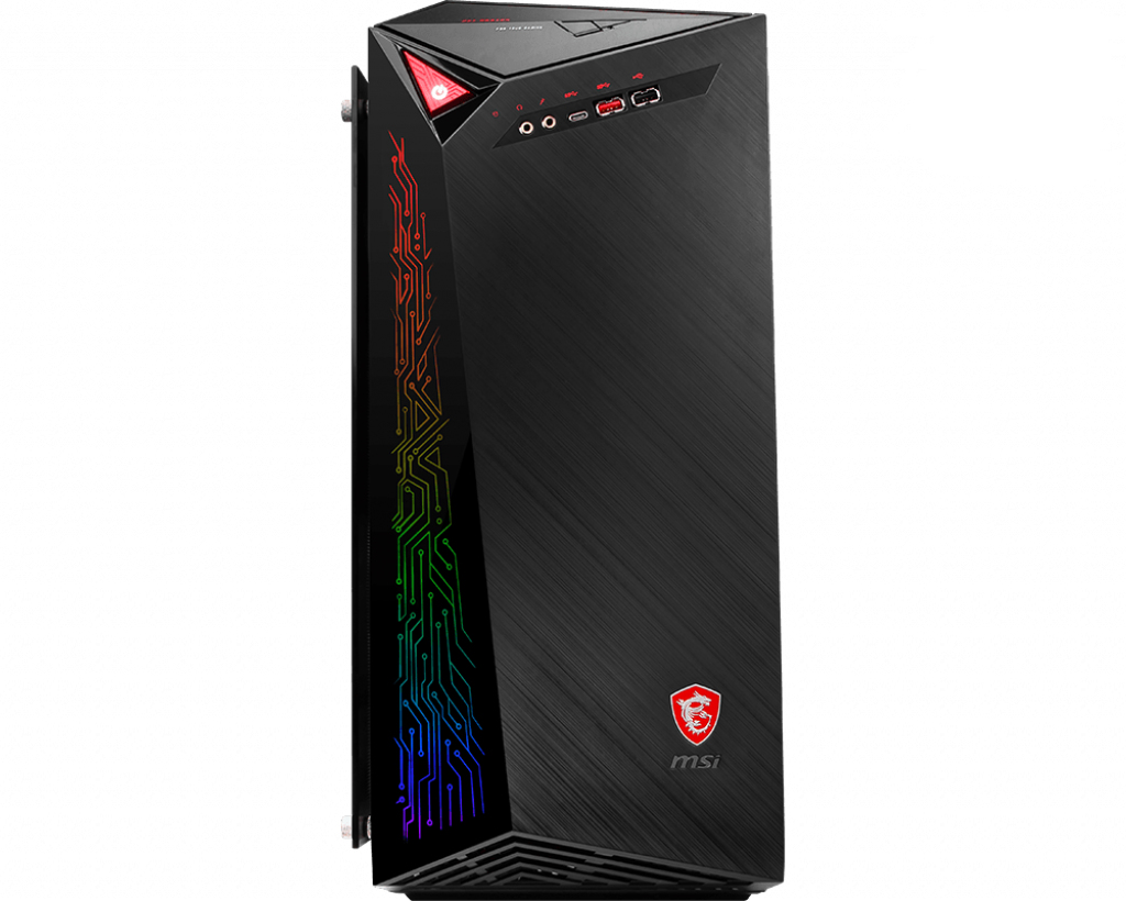 MSI Infinite A 8RC 296UK - Tower - 1 x Core i5 8400 / 2.8 GHz - RAM 8 GB - HDD 2 TB - DVD SuperMulti