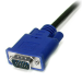 StarTech.com 6 ft 3-in-1 Ultra Thin PS/2 KVM Cable SVECON6