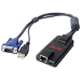 APC KVM-USB cable para video, teclado y ratón (kvm) Negro