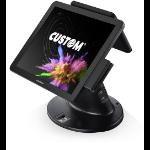 "CUSTOM 934MB010400L33 POS system 43.2 cm (17"") 1280 x 1024 pixels Touchscreen 2 GHz Black"