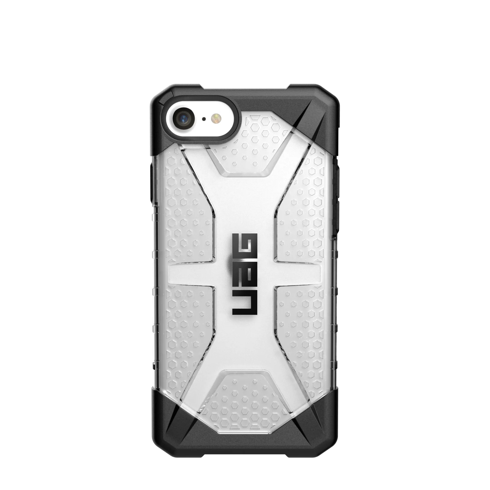 "Urban Armor Gear Plasma funda para teléfono móvil 11,9 cm (4.7"") Carcasa rígida Negro, Plata, Transparente"