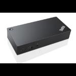 Lenovo 40A90090EU USB 3.0 (3.1 Gen 1) Type-C Black notebook dock/port replicator