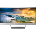 "HP EliteDisplay S340c LED display 34"" 3440 x 1440 pixels Ultra-Wide Quad HD Flat Black,Silver"