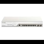 D-Link DBS-2000-10MP network switch Managed Gigabit Ethernet (10/100/1000) Power over Ethernet (PoE) Grey