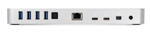 OWC OWCTB3DK12PSL Thunderbolt 3 Black, Silver notebook dock/port replicator