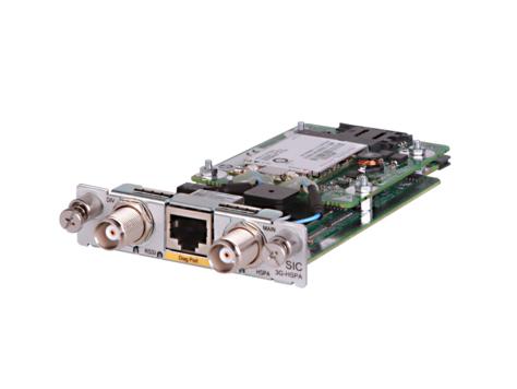 Hewlett Packard Enterprise MSR HSPA+ / WCDMA SIC Module cellular wireless network equipment